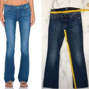 SEVEN FOR ALL MANKIND Skinny Bootcut Jeans